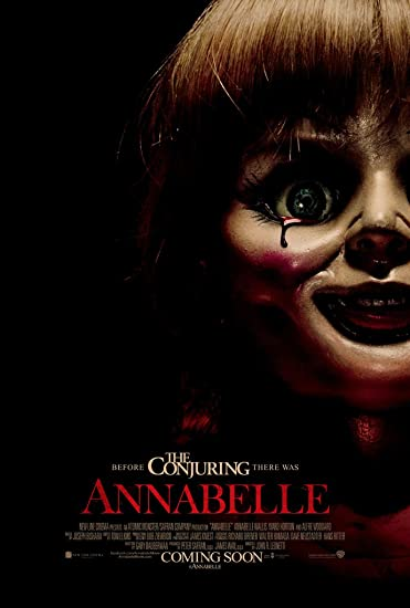 Image result for annabelle movie cover