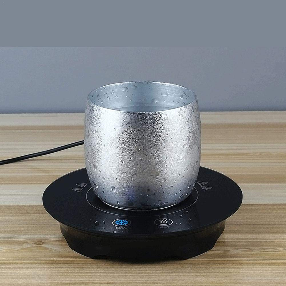 Smart Coffee Cup Warmer Cooler USB Electric Mug Warmer for Office Home Coffee/Tea/Milk/Juice by PROKTH