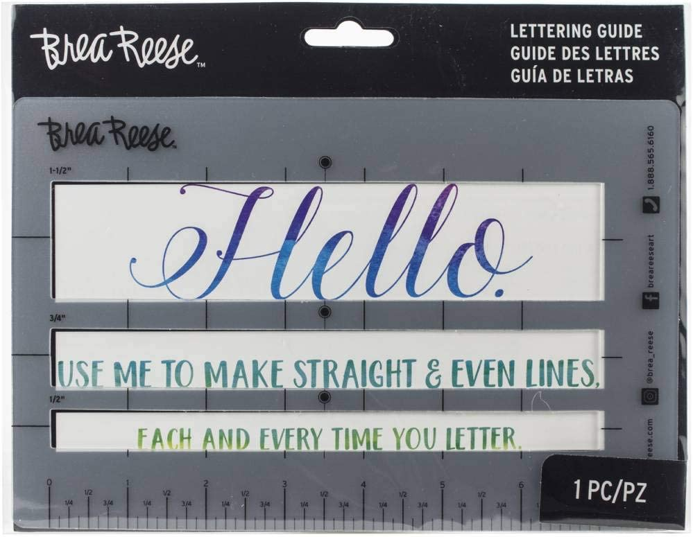 Momenta BR33418 Brea Reese Hand Lettering Aid