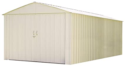 Charmant Arrow CHD1020 Storboss Mountaineer MHD, 10 By 20 Feet Steel Storage Shed, 10