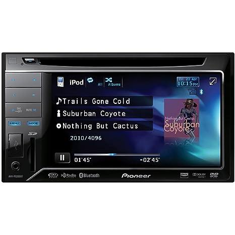 Pioneer AVH-P3200BT Bluetooth Negro receptor multimedia para coche - Radio para coche (4.0