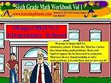 Sixth Grade  Math Workbook Vol 1