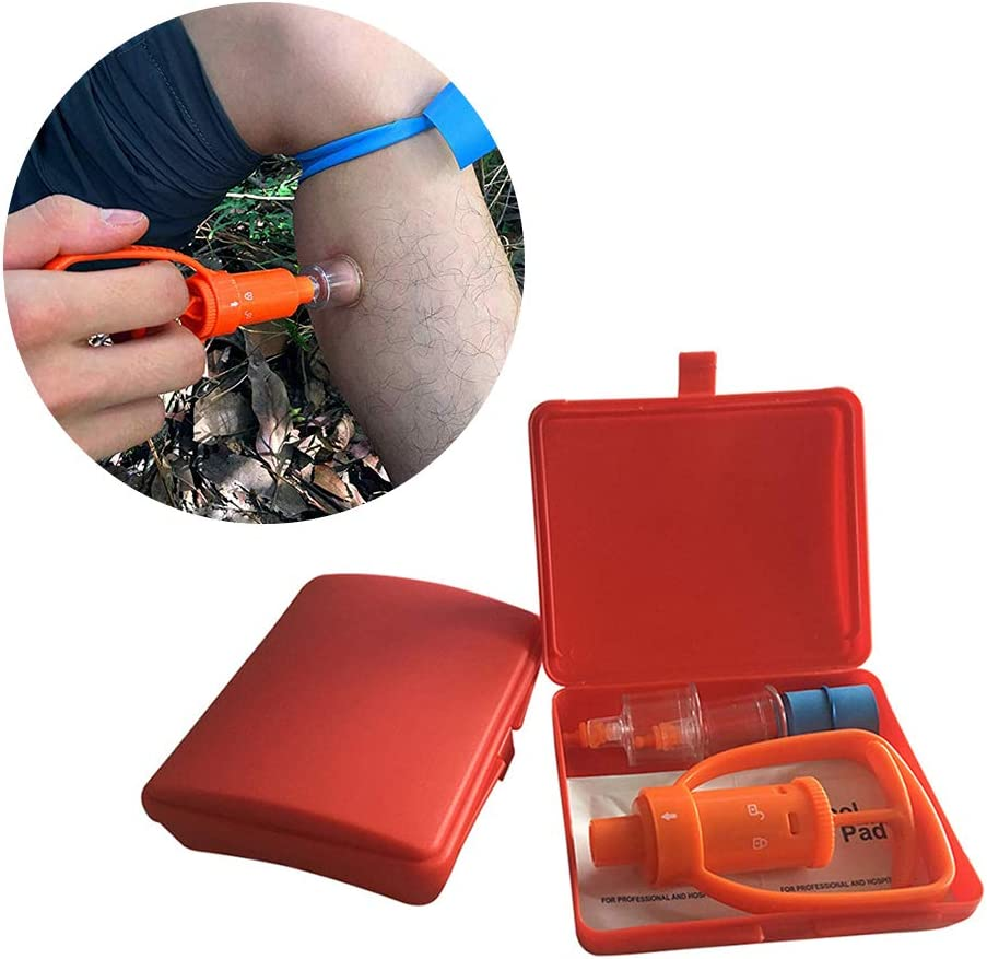 Venom Extractor Pump First Aid Safety Tool Kit Emergency Snake Bite Survival TR1
