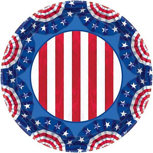 - American Pride Party Plates, 9