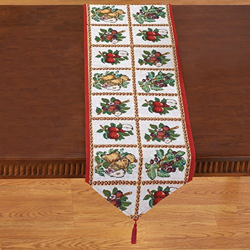 Fruit Assortment Tapestry Linens Runner