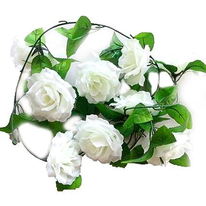 Fleur De Vigne Toogoo R Rose Artificielle En Soie Fleur De Vigne