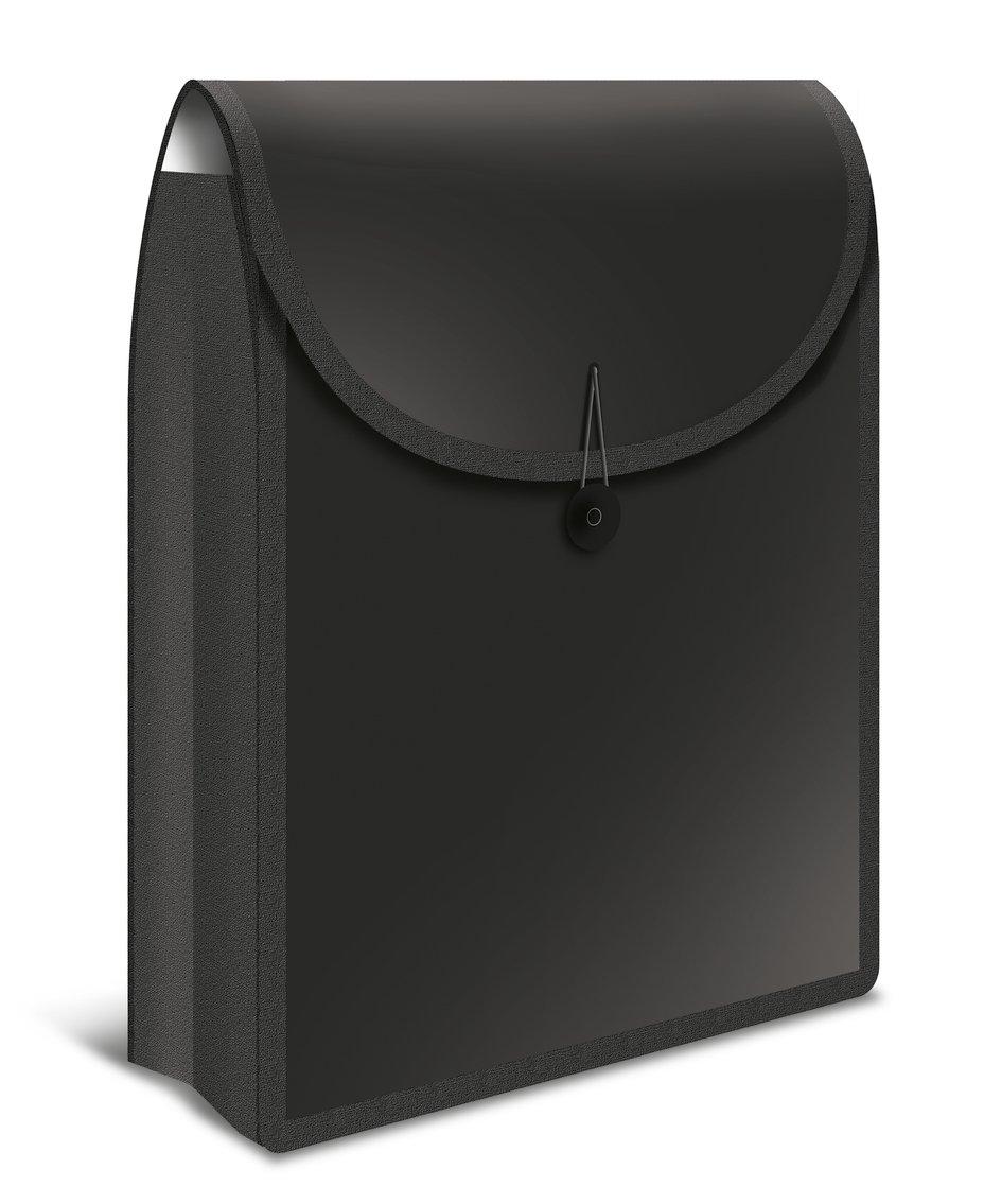 Schulrucksack 1 St/ück Kunststoff Blau Herma 19178 Flexible Heftbox FlexiBag f/ür DIN A4 Schulhefte und Schnellhefter im Schulranzen u