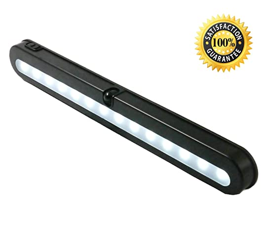 T01B Closet Light   JEBSENS 14 LED Under Cabinet Lighting And Battery  Operated Wireless Motion Sensor