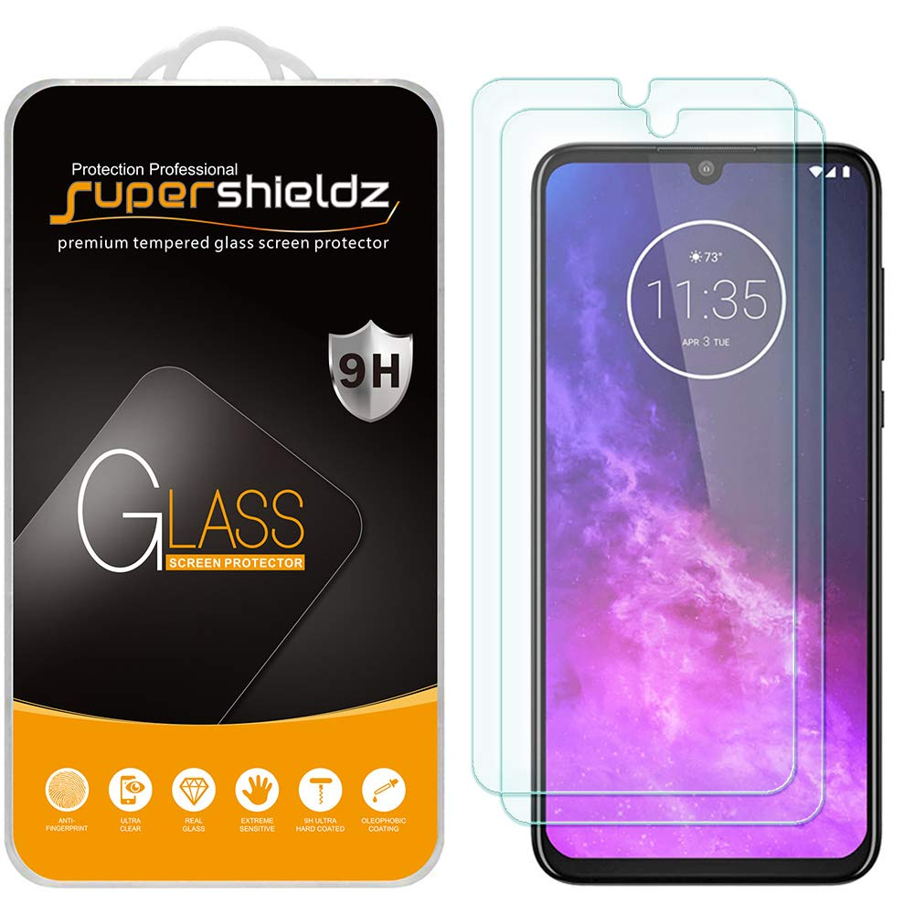 2 Vidrios Templados Para Motorola One Zoom, Supershieldz