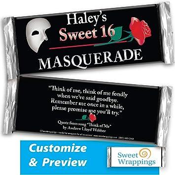Amazon.com: Envoltorios personalizados para caramelos, 16 ...