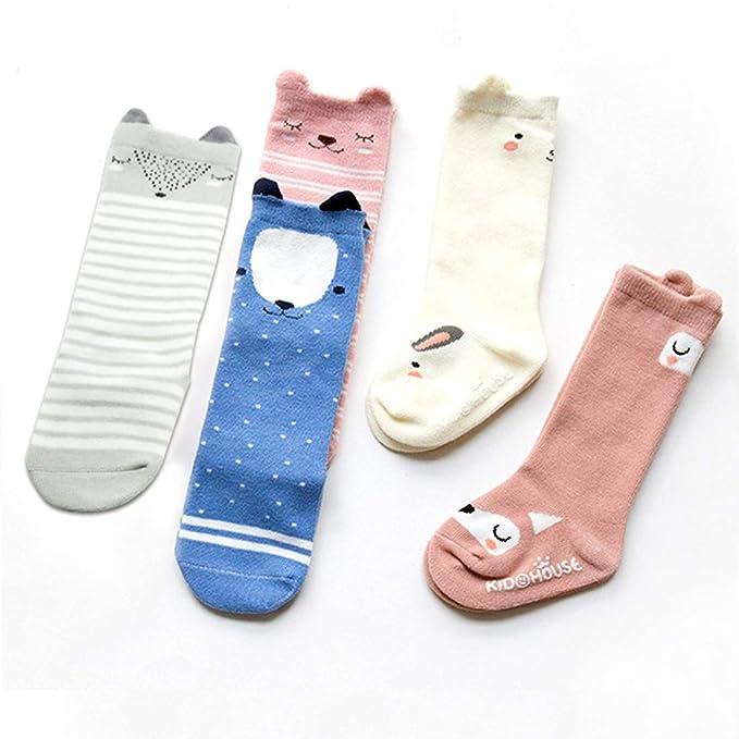 5211d6174af Amazon.com  BOTINDO Baby Knee High Socks