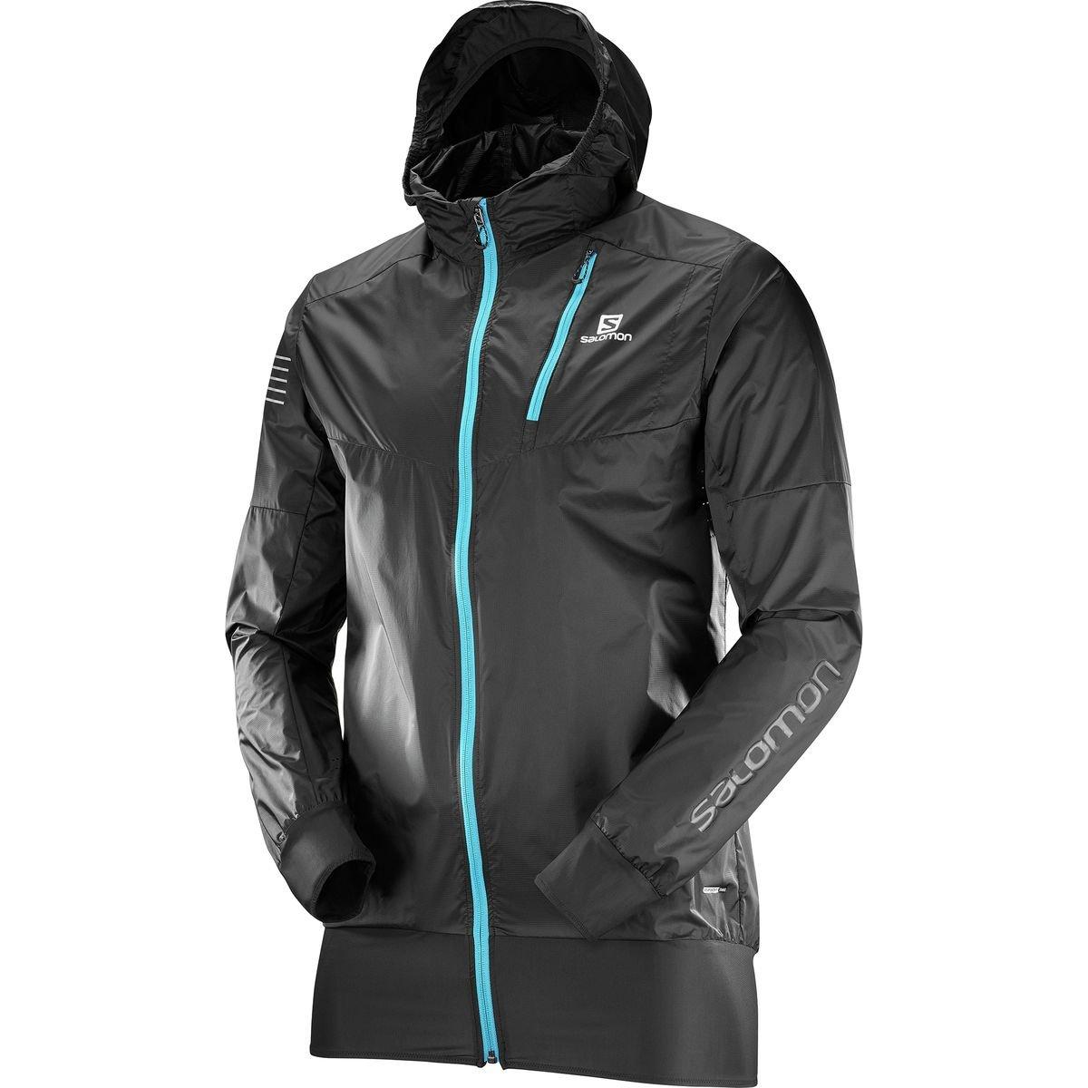 Salomon Men's Fast Wing Hybrid Jacket, Black, Medium by Salomon