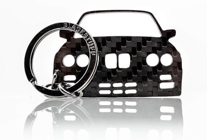 Blackstuff Carbon Karbonfaser Schlüsselanhänger Kompatibel Mit M3 E30 Bs 146 Bekleidung
