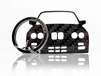 BlackStuff Llavero De Fibra De Carbono Cadena De Claves Compatible con M3 E36