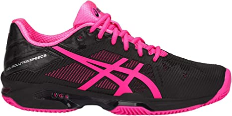Asics Chaussures Femme Gel-Solution Speed 3 Clay: Amazon.es ...