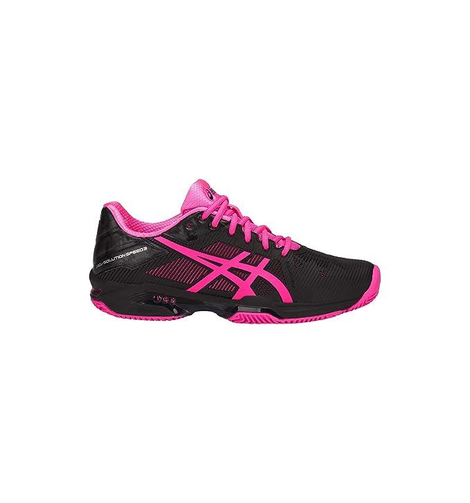 Asics Chaussures Femme Gel-Solution Speed 3 Clay: Amazon.es ...