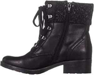 Bare Traps Womens Orley Fabric Closed Toe Ankle Fashion Boots