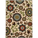 Oriental Weavers 41888 Arabella Area Rug, 2-Feet 2-Inch by 3-Feet 9-Inch, Multi Colored For Sale
