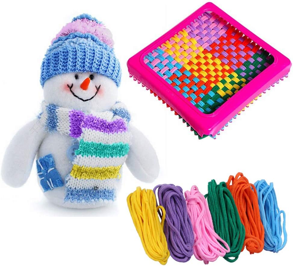 Prettyia 3pcs Wooden Cloud Shape Knitting Loom DIY Craft Weaving Tool Hand Knitted Machine for Handmade Wall Hanging Kids Children Toys