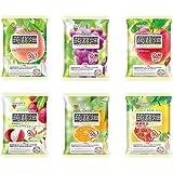 【期間限定】マンナンライフ 蒟蒻畑 6種 ぶどう味・白桃味・りんご味・ソルトinライチ味・温州みかん味・ピンクグレープフルーツ味(25g×12個) 合計6袋