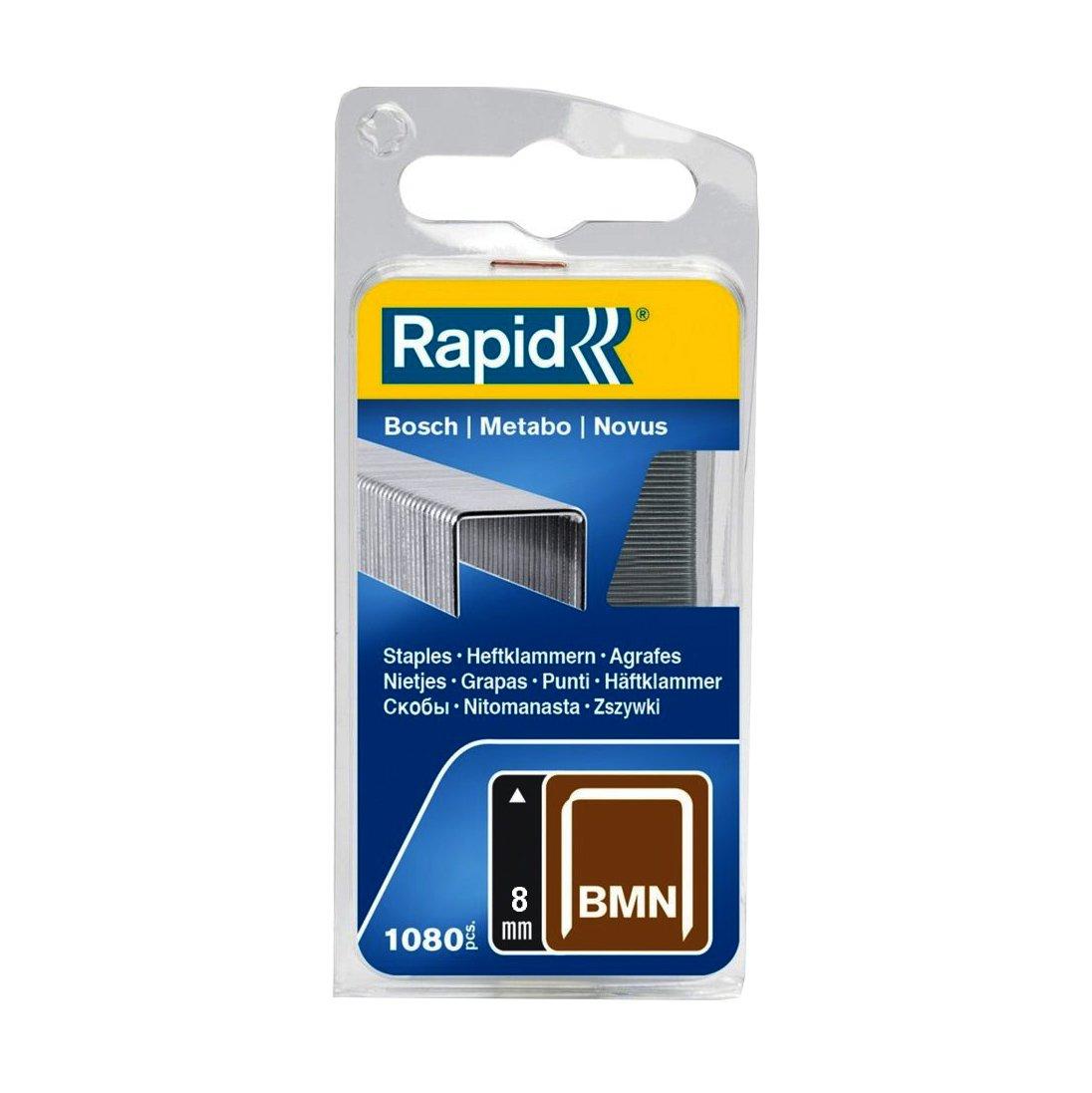 Rapid, 40109547, Agrafes en fil plat N°980, Longueur 12mm, 648 pièces, Pour les outils Swingline, Fil galvanisé