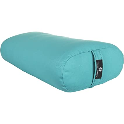 Amazon Hugger Mugger Standard Yoga Bolster Aqua Sports