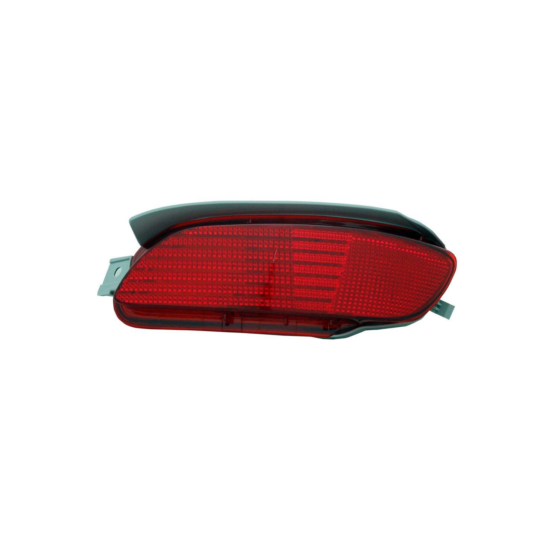 TYC 17-5155-00-9 Lexus Rear Right Replacement Reflex Reflector by TYC