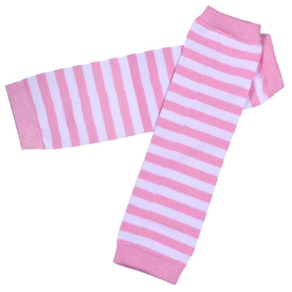 Fulltime/® Enfants Filles Chaussettes genou Stockings Tube droit Set Jambi/ère