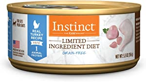 Instinct Limited Ingredient Diet Grain Free Recipe Natural Wet Canned Cat Food