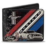 Buckle-Down Men's Wallet Mustang Tri-bar...