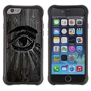 BullDog Case@ Cool Illuminati Seeing Eye Rugged Hybrid Armor Slim Protection Case Cover Shell For iPhone 6 Plus CASE Cover ,iphone 6 5.5 case,iPhone 6 Plus cover ,Cases for iPhone 6 Plus 5.5