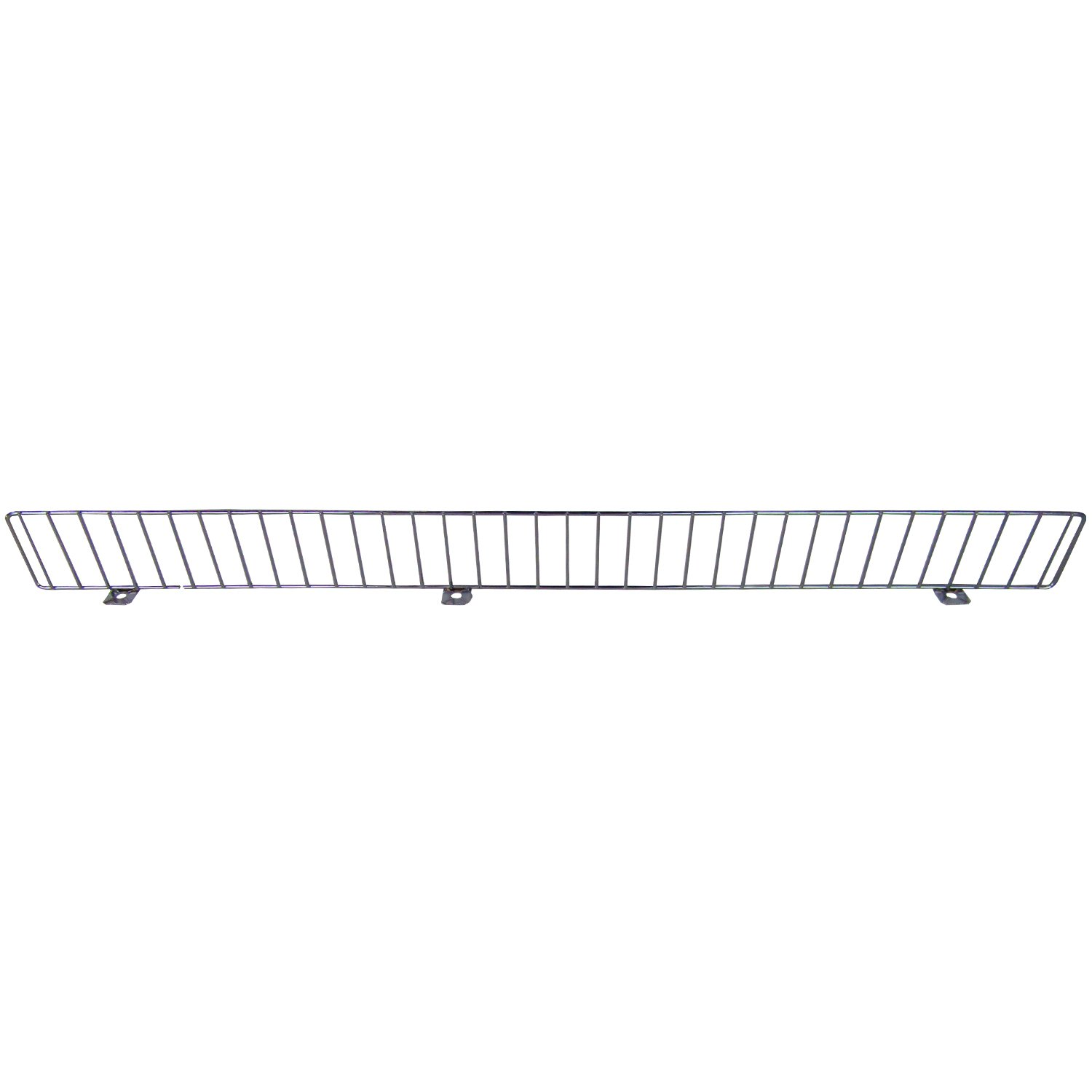 AWP CA-FDF336CN-2 Chrome Front Fence Streater, 3 x 36 Size, Chrome, (Pack of 25)