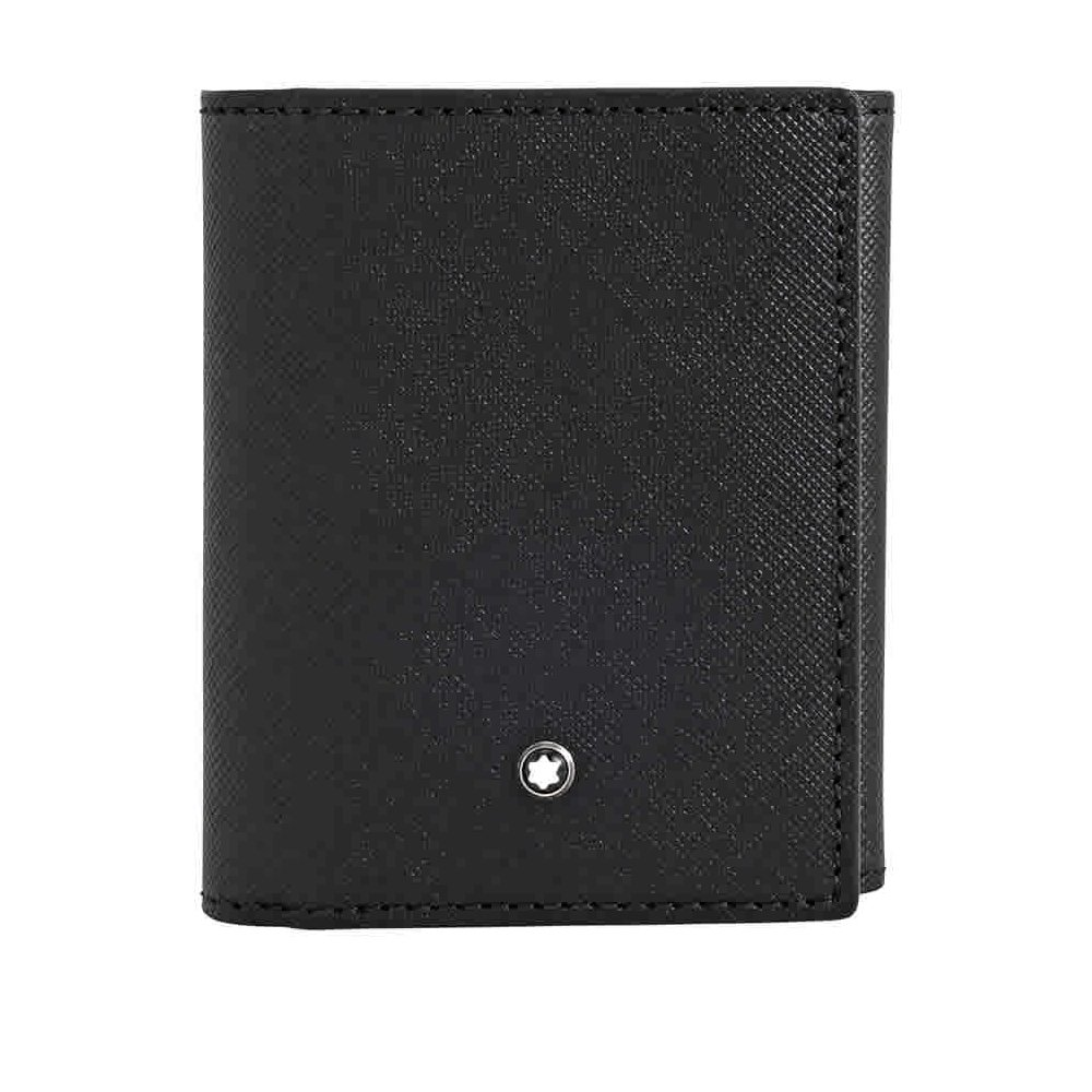 Montblanc Sartorial Trifold Business Card Holder - Black