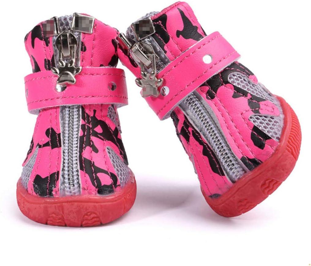Donad Zapatos para Perros Transpirables para Perros Grandes Zapatos Deportivos para Exteriores Zapatillas Antideslizantes Zapatillas para Correr Accesorios para Mascotas Protector de Pata