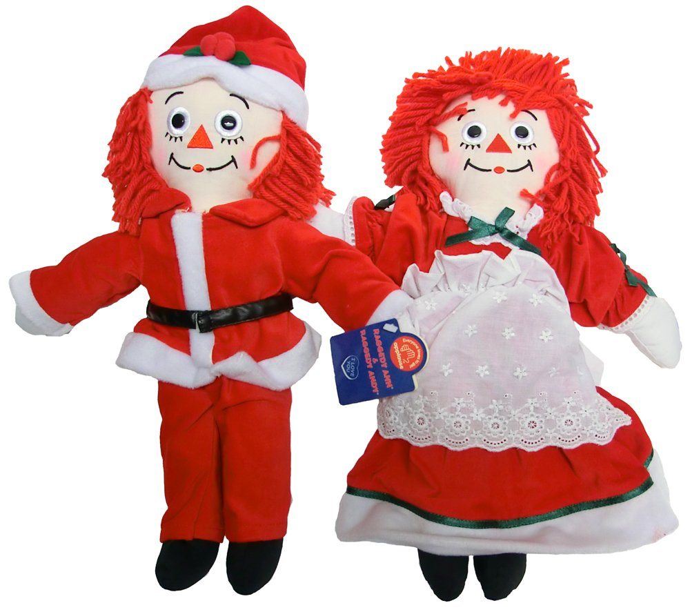 Raggedy Ann & Andy - Mr.Clause(ANDY) & Mrs.Clause(ANN) B00H96L692