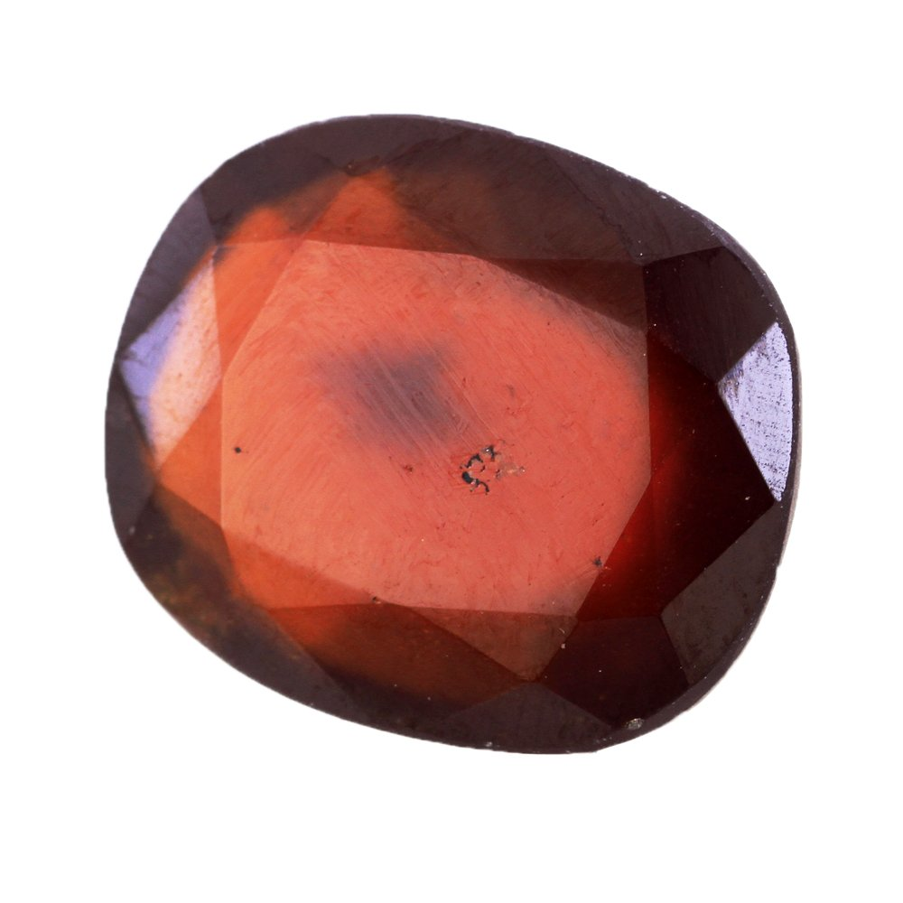 10.25 Ratti Natural CertifiedガーネットHessonite Gemstone B07CNLJJW2