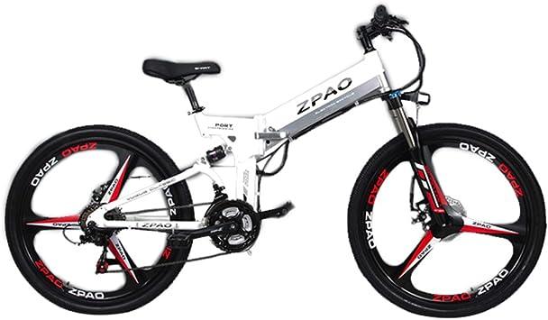 GTYW 26 Pulgadas Bicicleta Plegable Eléctrica Bicicleta De Montaña ...