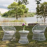 PatioPost Patio Furniture Set 3 Pcs Outdoor Garden