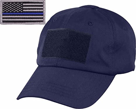 424bae4f3 Amazon.com : Navy Blue Tactical Operator Cap with Removable Thin ...