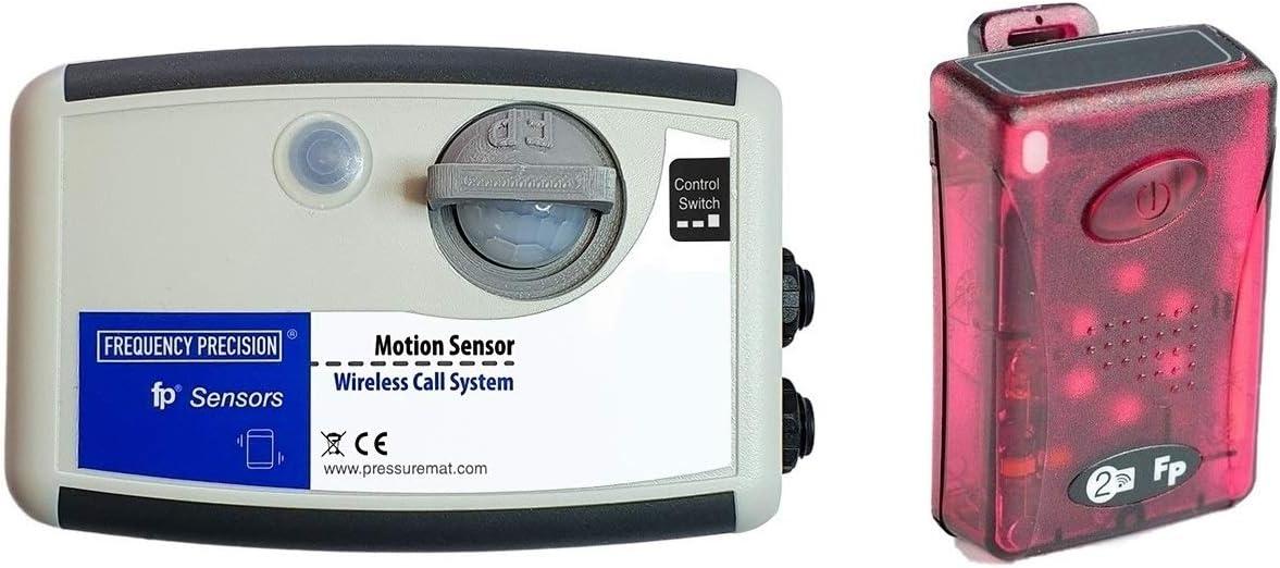 Kit de sensor de movimiento PIR de prevención de caídas y buscapersonas con rango de 400 m: Amazon.es: Salud y cuidado personal