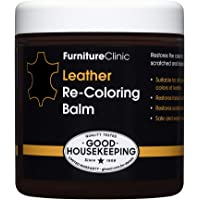 $29 » Furniture Clinic Leather Recoloring Balm (8.5 fl oz) - Leather Color Restorer for Furniture, Repair…