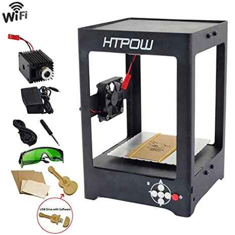 htpow 1000 mW WiFi Mini Laser engraver DIY Art Craft ...