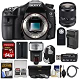Sony Alpha A77 II Wi-Fi Digital SLR Camera Body with 18-135mm Lens + 64GB Card + Battery + Charger + Backpack Case + Filters + Flash + Kit Review