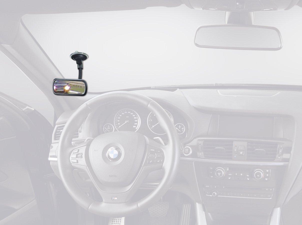 Specchio Angolo Morto, Kind osservazione, Sedile posteriore Controllo, ecc. Designed in Germany | Montaggio Velocissimo ampio campo visivo Hr Imotion Specchio