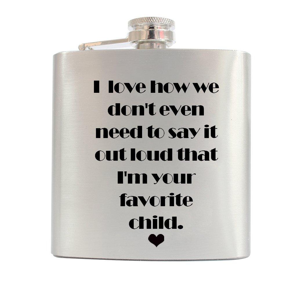 【返品?交換対象商品】 刻印のフラスコDad父の日ギフト6ozシルバーステンレススチールQuote Flasks Flasks Liquor for B07171LJ7L Liquor for Papa B07171LJ7L, 印鑑大統領:6f4b8f24 --- a0267596.xsph.ru