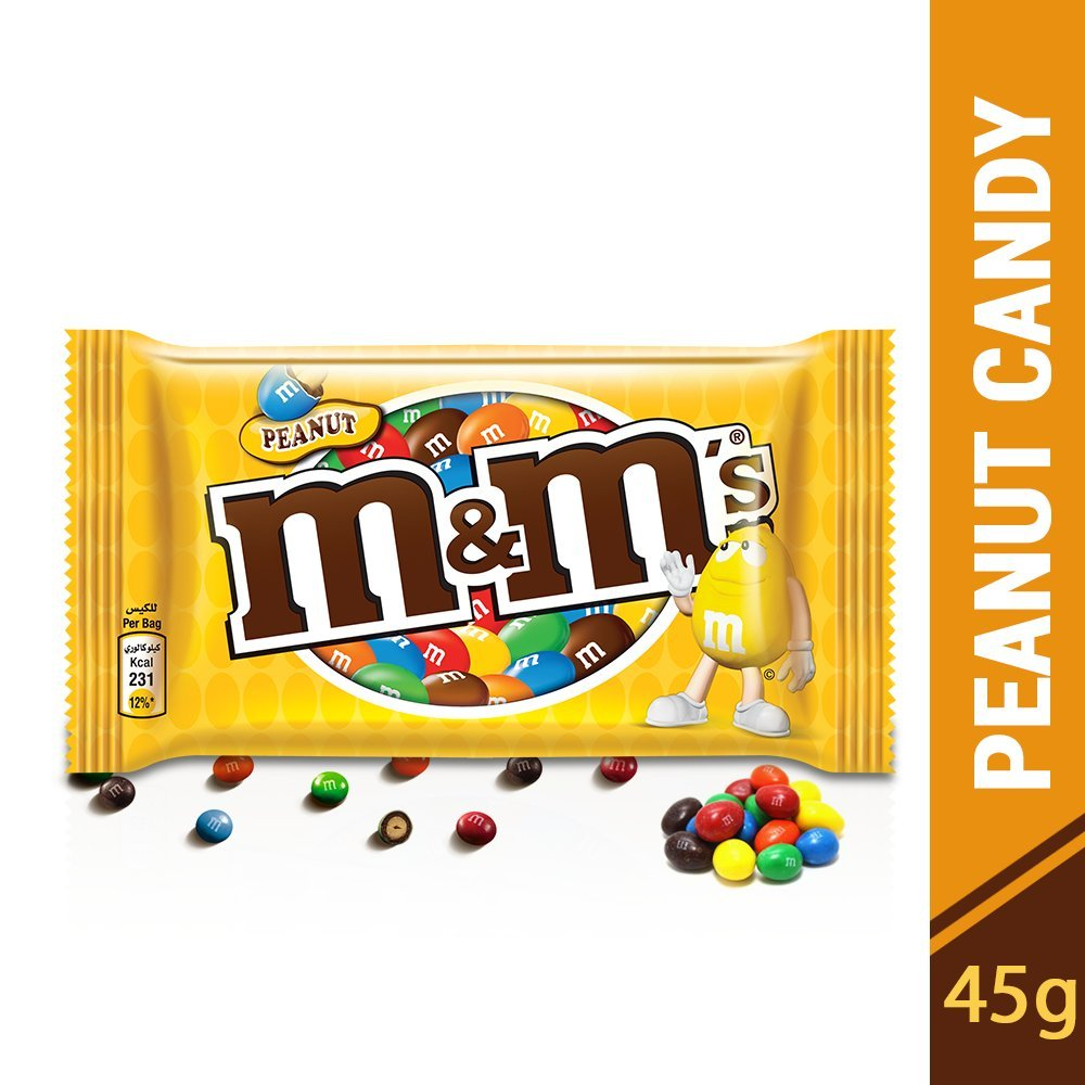 Amazon.com : M+M Schokodragees M+Ms Peanut 45g : Chocolate Assortments And Samplers : Grocery & Gourmet Food
