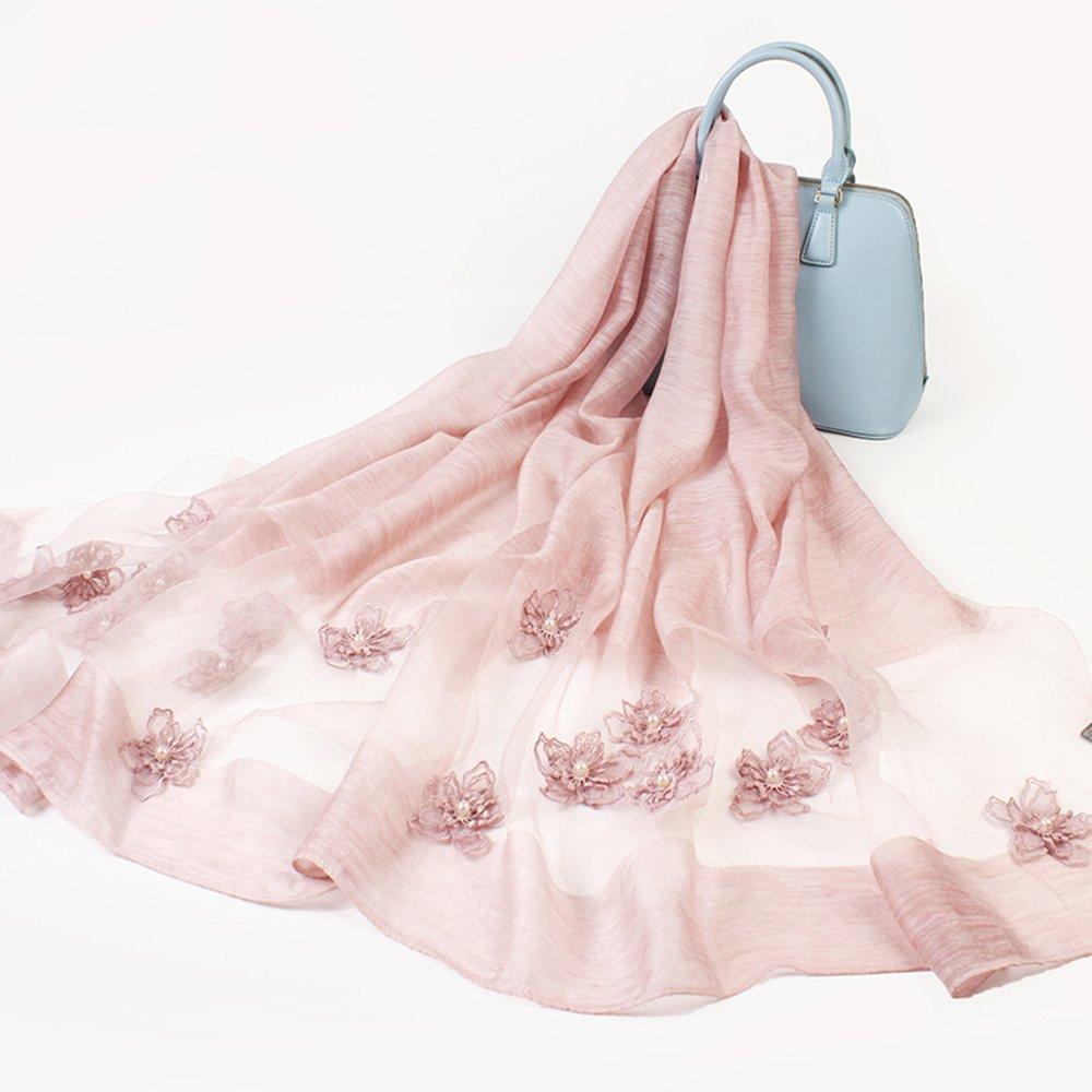 MEIDUO Bufandas y Chales Bufandas de seda Bufandas de seda del resorte y del otoño de las mujeres Ch...