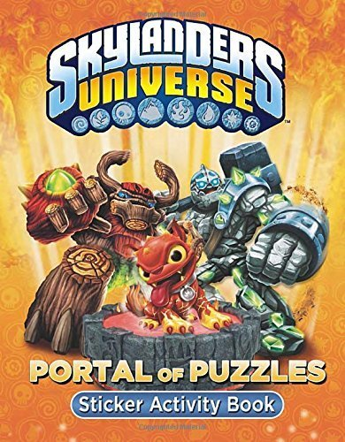 Portal of Puzzles Sticker Activity Book (Skylanders Universe) by Grosset & Dunlap (2013-06-27)