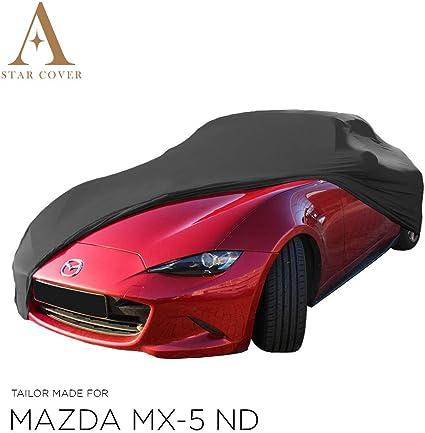 Star Cover Car Cover Black Mazda Mx 5 Nd Protective Cover Auto