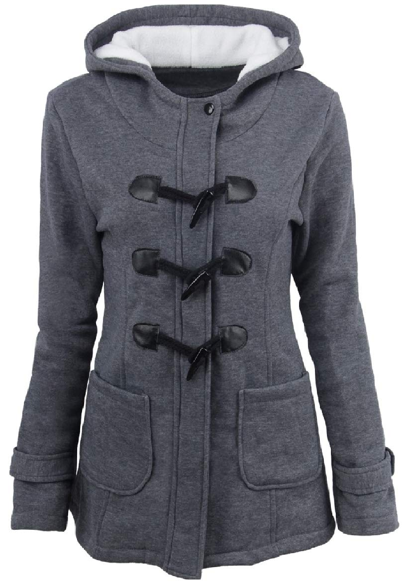 Spodat Women's Hooded Outwear Warm Plus Size Winter Down Parka